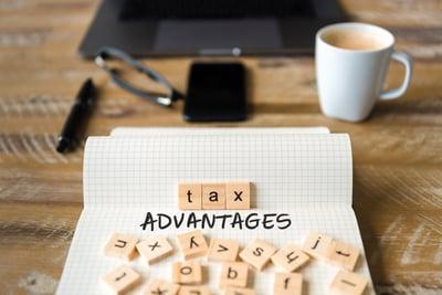 ART_Tax advantages_scrabble on notebook