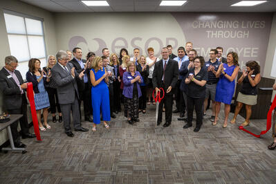ESOP Partners_after ribbon cutting 7.10.19