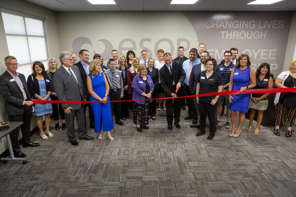 ESOP Partners_cutting the ribbon 7.10.19